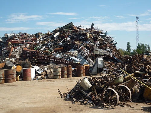 Community metal waste