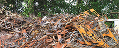 Collecting and handling of metal waste